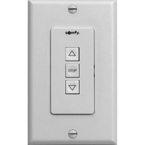 St30 Up Stop Down Wall Switch White Motorized Blinds
