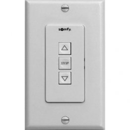 ST30 Up/Stop/Down Wall Switch (Ivory)